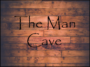 The Man Cave Sign made from Aluminium Composite