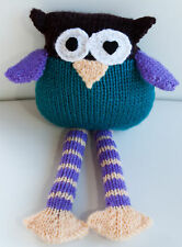 Tinki the hand knitted owl - genuine Eatmyfeet product