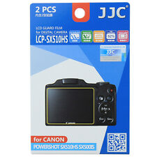 JJC LCP-SX510HS LCD Camera Screen Display Protector for CANON POWERSHOT SX510HS