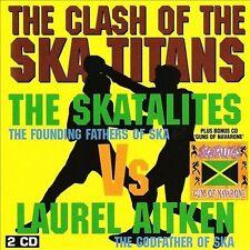 Clash Of The Ska Titans/Guns Of Navarone by Laurel Aitken/The Skatalites CD SKA