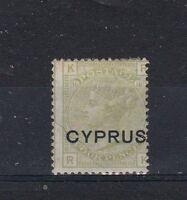 Cyprus 1880 4d GB op MH