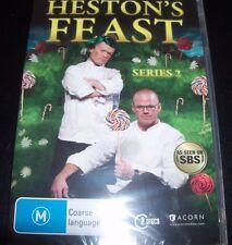 Heston's Feast Heston Blumenthal Series 2 (Australia Region 4) SBS DVD New