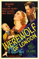 1935 WEREWOLF OF LONDON VINTAGE HORROR MOVIE POSTER PRINT 24x16 9 MIL PAPER
