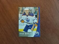 Connor McDavid RC 2015-16 UD Star Rookies SP - Oilers