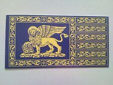 Stemma adesivo Bandiera del Veneto blu Leone di San Marco adesivi Venezia