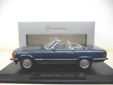 1:18 NOREV  Mercedes 300SL W107 nautik blau Limited Dealer Edition 500 piece NEU