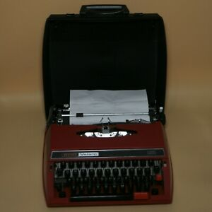 Brother Valiant 413 Rare Red Typewriter | Made in Japan