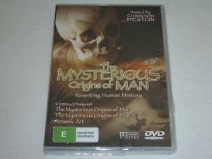 The Mysterious Origins Of Man - Brand New & Sealed - All Regions - DVD