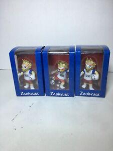 2018 FIFA World Cup Russia Zabivaka Figurine Set Of 3