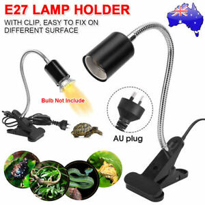 Ceramic Heat Lamp Holder Clamp E27 Emitter Reptile Pet Turtle Brooder Incubator