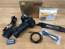 Nikon D D200 10.2Mp Digital Slr Camera w/ sigma hyperZoom Lens 28-200