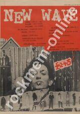Ramones Patti Smith Runaways Damned New York Dolls Talking Heads LP Advert 1977