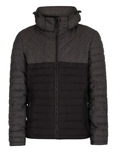 SUPERDRY  Tweed Mix Fuji Jacket   Reduced - Navy and Charcoal