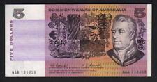 Australia R-202F. (1967) 5 Dollars - Coombs/Randall.. 1st Prefix NAA.. gVF