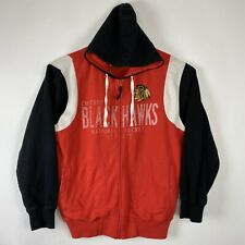 Men's GIII Chicago Blackhawks Zip Up Hoodie Sz Large