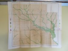 "1902 Antique Map Illinois Clay County Xenia Flora Louisville 27 X 24"" #8790"