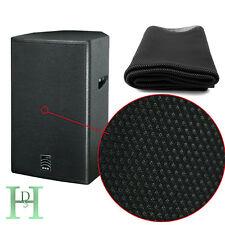 1.4mx0.5m Speaker Grill Cloth Stereo Gille Fabric Speaker Radio Mesh Cloth UK