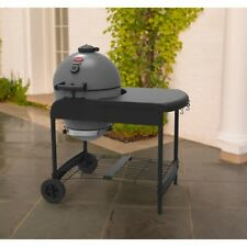 "Char-Griller Akorn Kamado Kooker 20"" Grey Charcoal Grill with Cart Outdoor Bbq"
