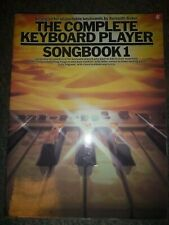 The Complete Keyboard Player Songbook 1  by Kenneth Baker