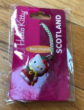Sanrio Scotand Hello Kitty Cellphone Charm Cellular NEW