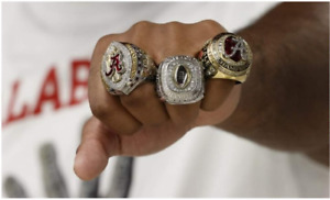 2020 Alabama national sec playoff 3pcs set Championship ring