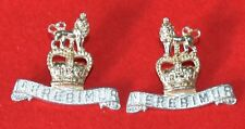 British Army. 15th/19th Hussars Genuine OR's Collar Badges
