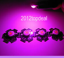 10pc 3W full spectrum 400nm-840nm led grow lights F hydroponics on 20mm star pcb