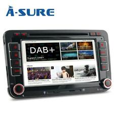 2 Din GPS DVD CD Autoradio Offline Navi Karten DAB+ AM FM Bluetooth für VW Golf