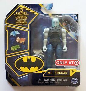 Spin Master Batman MR. FREEZE Figure + 3 Accessories NEW FREE SHIP