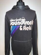 Gio Gio Soundtrack & Field Retro Indie Cool Black Hoody Hoodie Top XL RARE