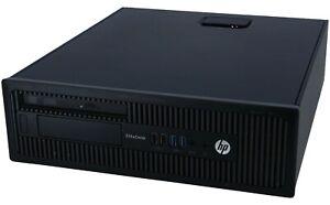 HP EliteDesk 705 G3 SFF PC AMD A8-9600 R7 3.1GHz 16GB 1TB HDD DVD-RW WIN 10