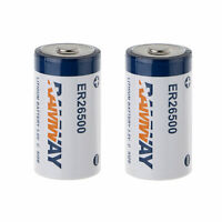 US Seller 2PCS 3.6V Lithium BATTERY C 9AH WELD ER 26500 LS26500 LS26500C TL-4920