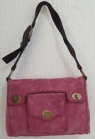 Authentic Miu Miu pink suede small shoulder bag