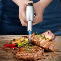 1* Adjustable Cooking Blow Torch Refillable Butane Baking Lighter Kitchen Flame