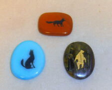 Totem Energy Stones - 3 Different - Bear, Coyote, Fox