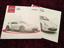 Nissan 370Z Nismo Brochure 2013 - 06/2013 issue - UK Issue