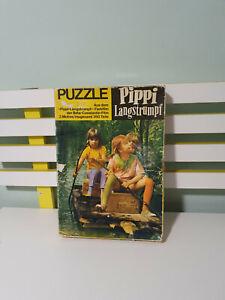 PIPPI LONGSTOCKING JIGSAW VINTAGE 3 JIGSAWS WITH PAPER INSERTS PIPPI LANGSTRUMPF