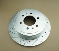 POWER STOP AR8598XL DRILLED & SLOTTED BRAKE ROTOR LEFT SIDE