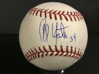 Al Yates Signed Baseball Autograph Certified Auto COA Beckett BAS Tough d. 2007