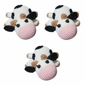 Handmade Amigurumis cows 3 units pack
