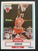 Michael Jordan, Chicago Bulls, 1990 Fleer, #26, + LOT