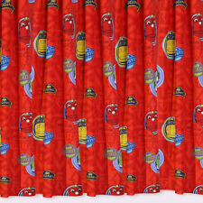 Chuggington Traintastic Train Red 66 x 54 Childrens Bedroom Ready Made Curtains
