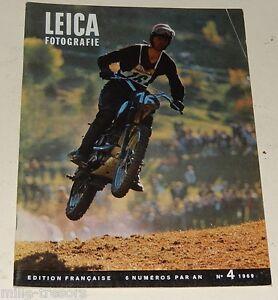LEICA Fotografie Edition française N°4 de 1969 Hermann ROTH - LEICAFLEX - Flash