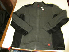 FILA SPORT FLEECE RUNNERS JACKET MENS SZ XXL -CHARCOAL- NWT