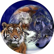 4x4 Spare Wheel Cover 4 x 4 Camper Camper Graphic Vinyl Sticker Wolves 101