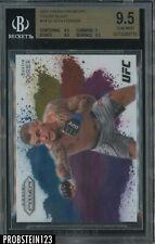 2021 Panini Color Blast Prizm UFC #14 Dustin Poirier BGS 9.5 GEM MINT