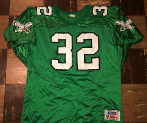 RICKY WATTERS Vtg 1990s 1995 Philadelphia Kelly Eagles Green WILSON Jersey XXL