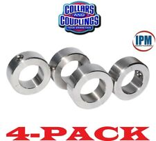 "4-PACK!  NEW!  7/16"" ID Set Screw Shaft Collar, 1-PC Steel Zinc Plated SC43Z"