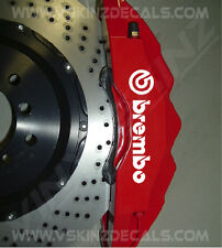 Brembo Superior Cast Brake Caliper Decals Stickers Porsche Audi Alfa Romeo Ford