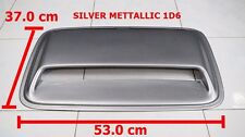TOYOTA HILUX FORTUNER 2004-2014 SILVER METTALLIC 1D6 HOOD SCOOP COVER 53 X 37
